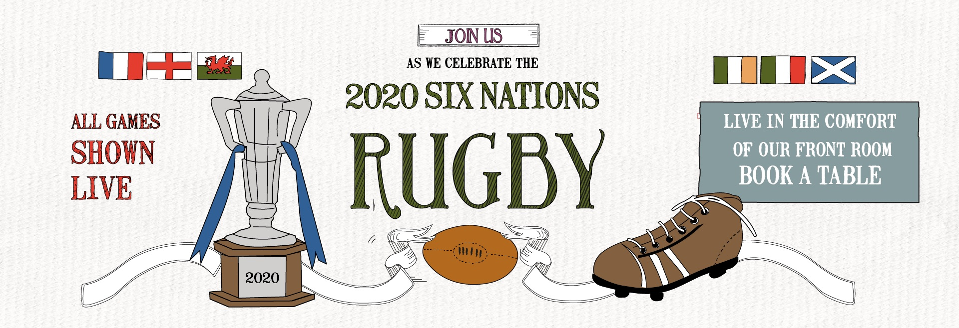 6 Nations Live at Gosforth