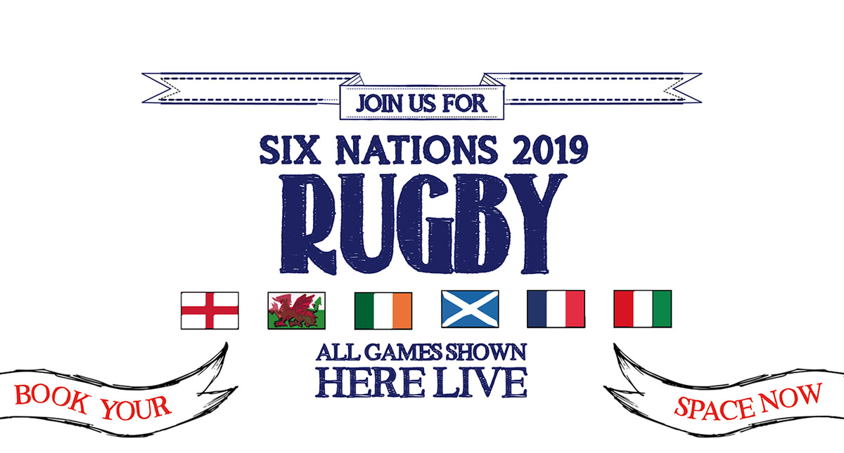 Watch the 6 Nations at The Brandling Arms in Newcastle-Upon-Tyne