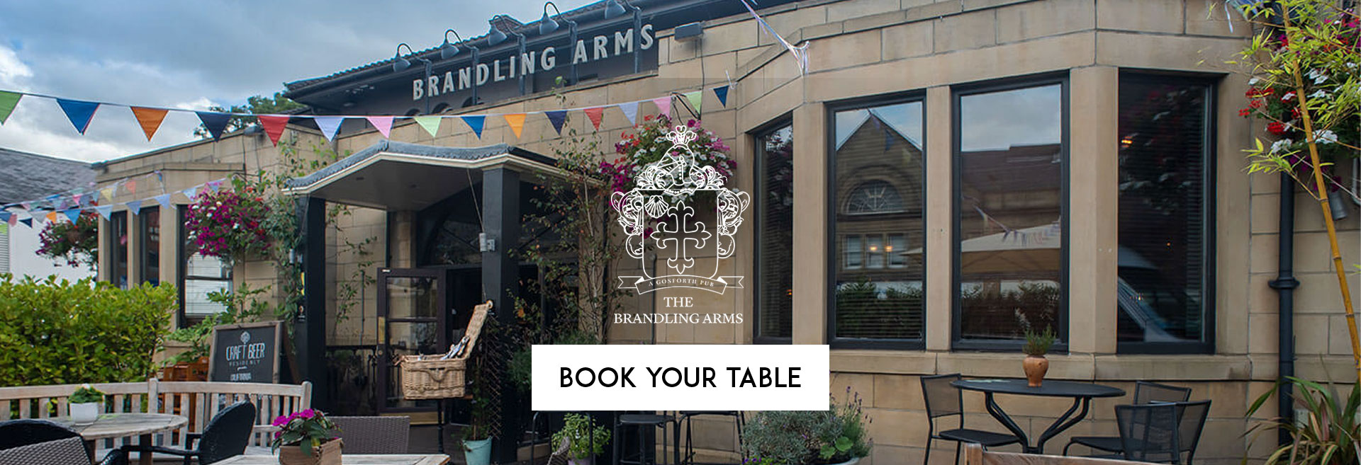 Book Your Table at The Brandling Arms